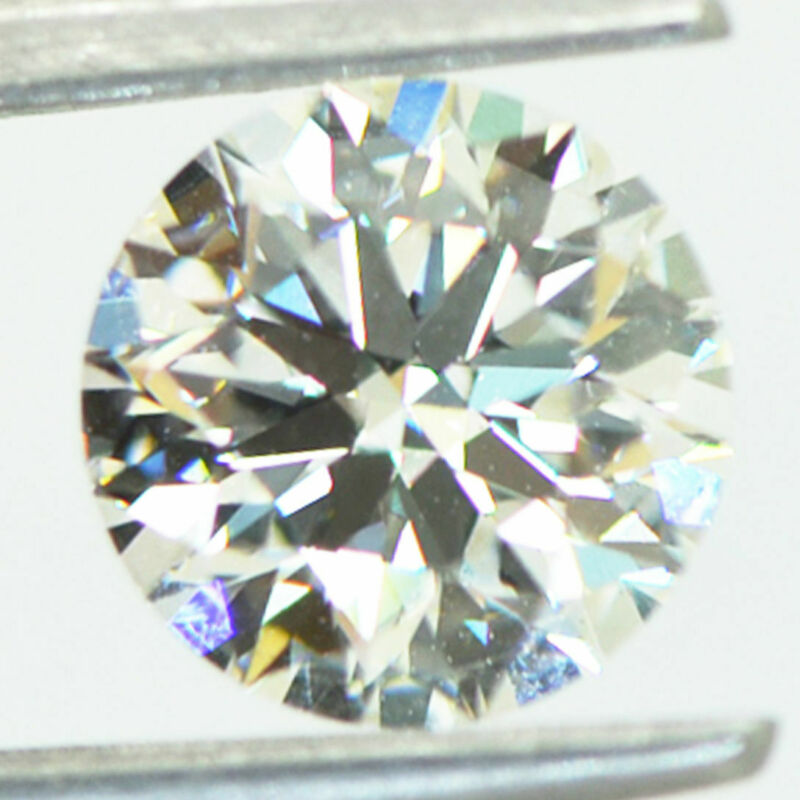 Round Cut Lab Grown Diamond Loose F VS2 IGI Certified Polished CVD 1.50 Carat