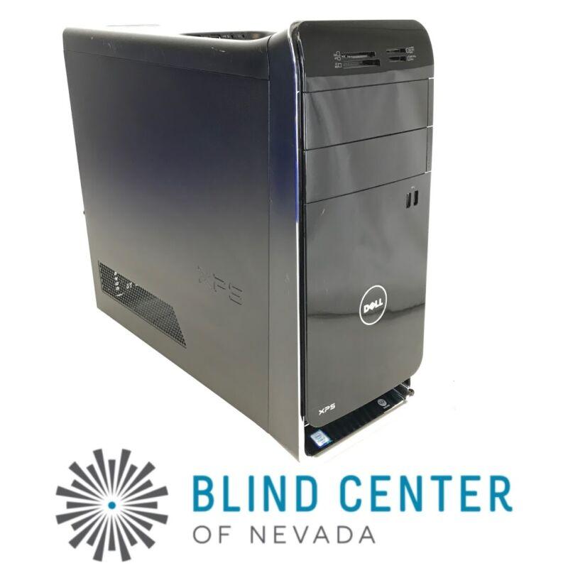 Dell XPS 8900 i7-6700 3.4GHz 2TB HDD 16GB Ram NVIDIA GT730 Win 10 Pro F0JSRD2