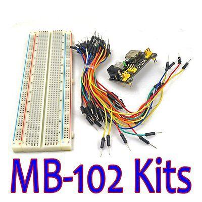 Miroad Mb-102 Mb102 Solderless Breadboard Power Supply Module Jumper Cable Kits