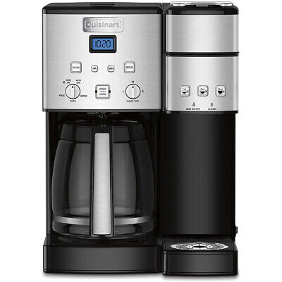 Cuisinart 12 Cup Coffeemaker and Choose Serve Brewer