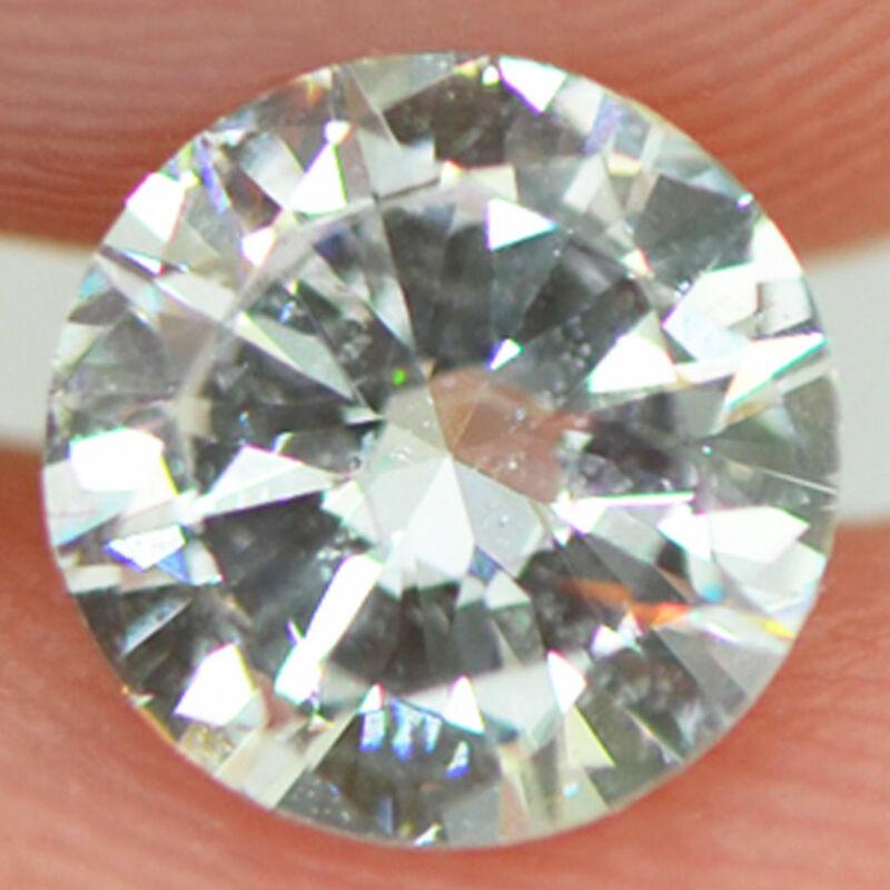 Round Cut Diamond Natural Loose D VS2 Certified Enhanced Polished 1.00 Carat