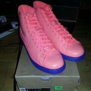 Nike Blazer Cassette Playa patent leather pink purple punch UK7/US8 BNIB!