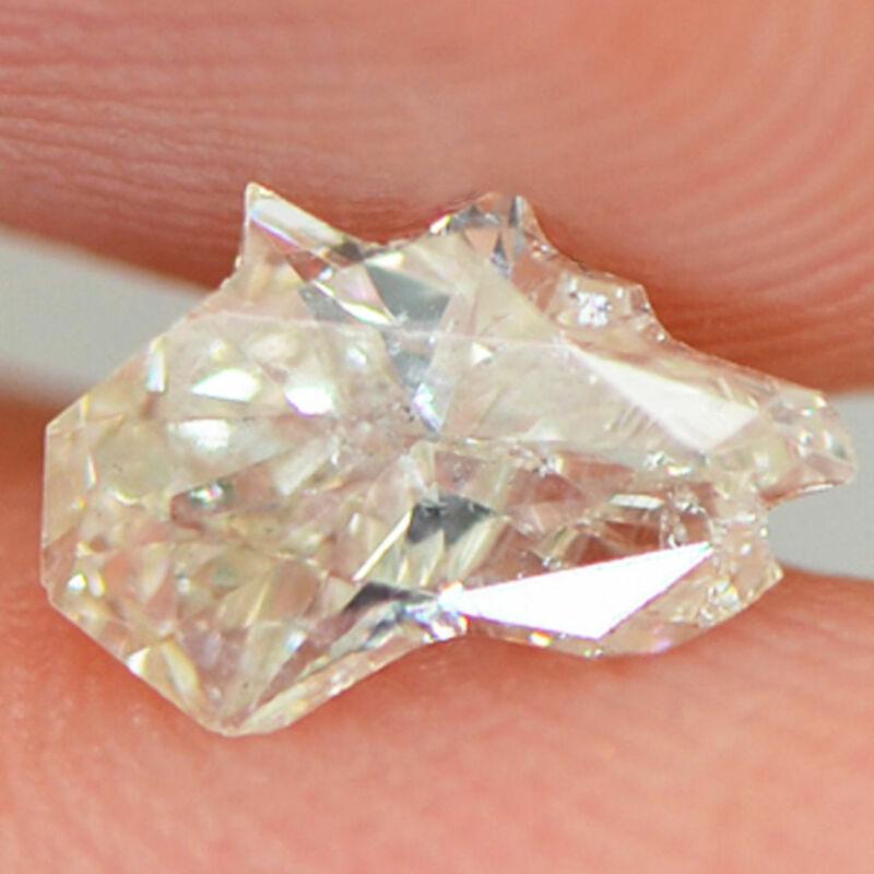 Horse Head Diamond Natural Loose H Vs2 Certified Polished Enhanced 0.62 Carat