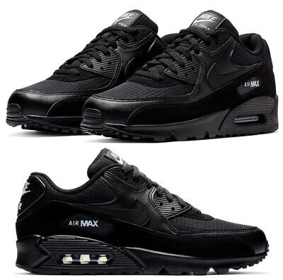 New NIKE Air Max 90 Essential Athletic Sneakers Mens black white all sizes