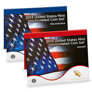 2013 United States Mint Uncirculated Coin Set In Stock & ready to ship! (U13)