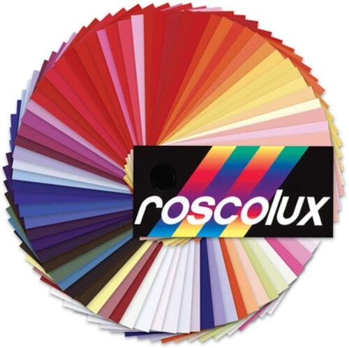 """Rosco GEL Mix and Match You Pick 20"""" x 24""""    10 Sheets (per order)"""