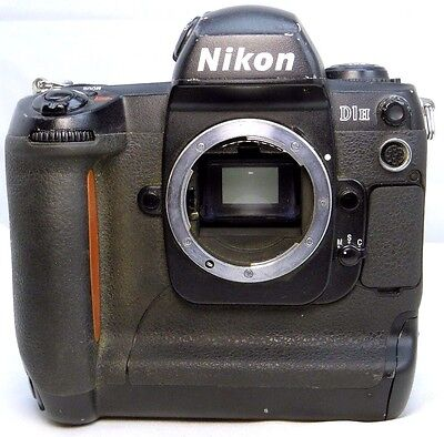 Nikon D1H 2MP Digital SLR Camera - Black (Body Only) -  Not Working PARTS AS IS