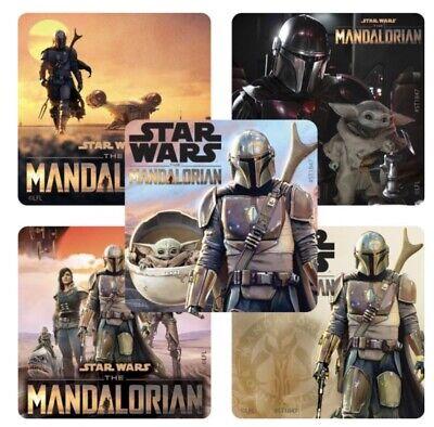 Star Wars Teacher (25 Star Wars The Mandalorian Stickers Birthday Party Favors Teacher Supply)