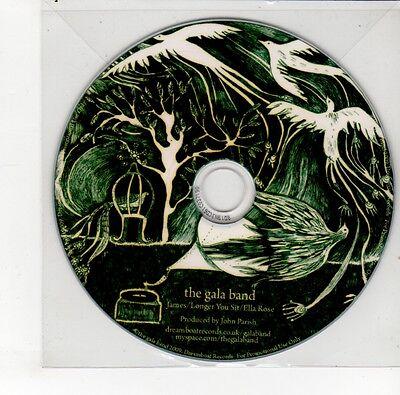 (GO200) The Gala Band, 3 track sampler - 2009 DJ CD Gala-band