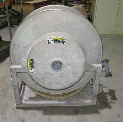 Stainless Steel Heavy Duty Spring Retractable Hose Reel  50 Feet Steam Hose