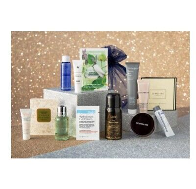 NEW 16 Pcs Blue Mercury Luxury Bag. Makeup, Perfume, Skin, Body & Hair -