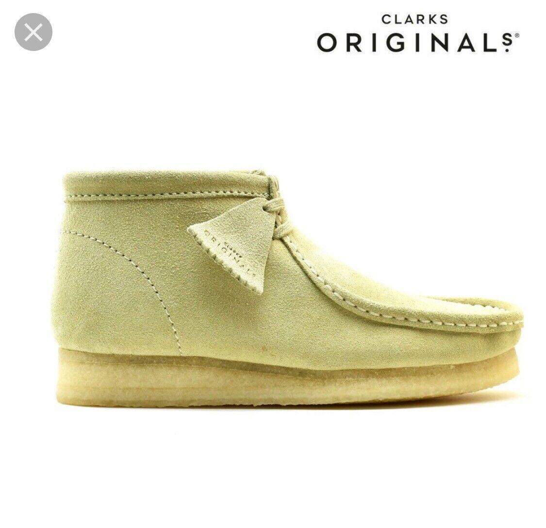 Clarks Wallabee Suede Boots. Originals. Men's Sizes. 26133283