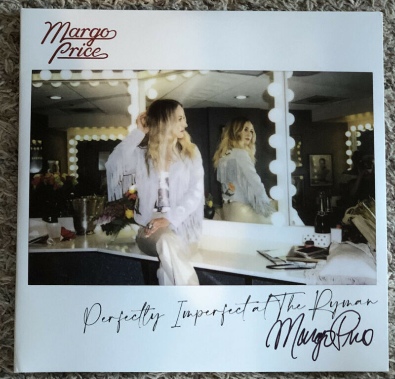 AUTOGRAPHED Margo Price -Perfectly Imperfect Ryman - SIGNED