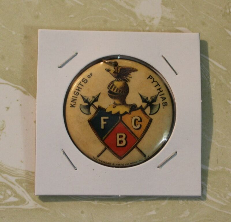 VINTAGE BADGE DROP FROM KNIGHTS OF PYTHIAS OHIO