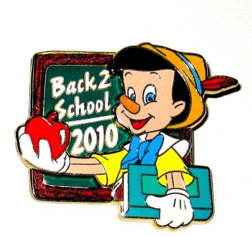 Pinocchio LE Disney Pin ✿ Real Boy Back to School Chalkboard Apple Teacher Book