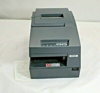 Epson Tm-h6000iii M147g Thermal Receipt Pos Printer With Adapter Ab848
