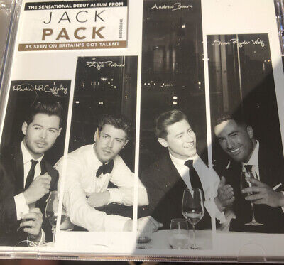 Jack Pack Jack Pack New Unsealed Cd Britain's Got Talent Winner