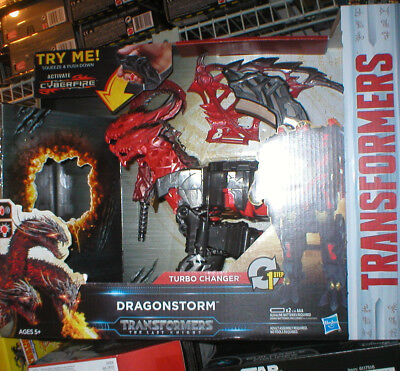 TRANSFORMERS THE LAST KNIGHT TURBO CHANGER DRAGONSTORM- 1 STEP, NEVER OPENED