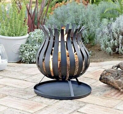 Bulb Fire Basket Fire Pit Patio Heater 🔥 BRAND NEW ✅ FREE NEXT DAY DELIVERY 🚚✅