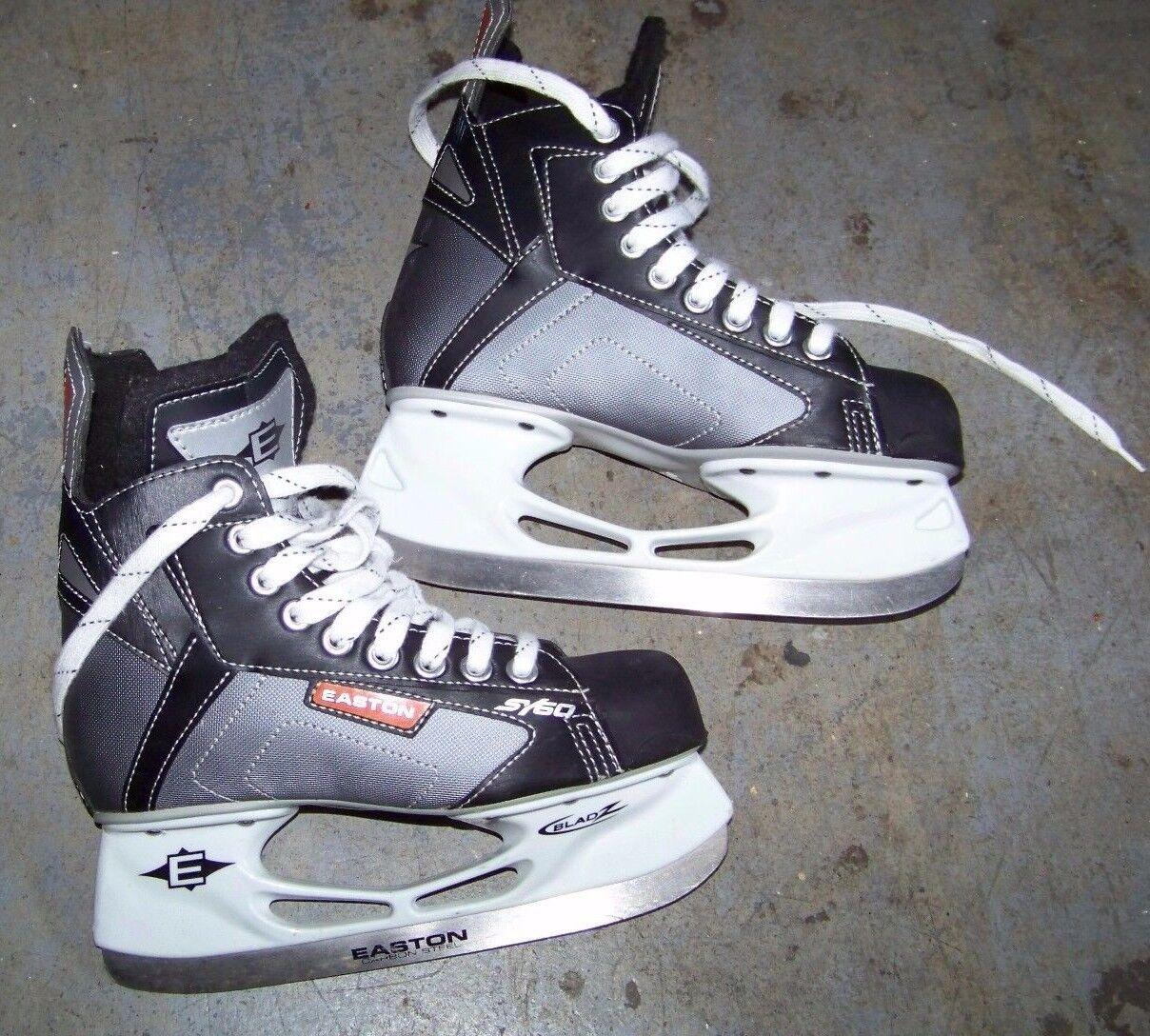 New Stainless Easton Runner Blade Razor Bladz II holder ice hockey stake