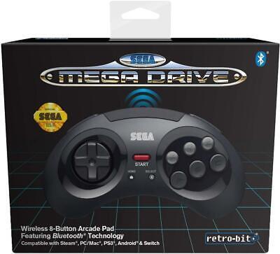 Retrobit - Sega Mega Drive manette 8 boutons sans fil Bluetooth N