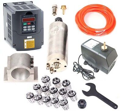 2.2kw Spindle Motor W Mount Variable Frequency Driver Vfd Er20 Water-pump