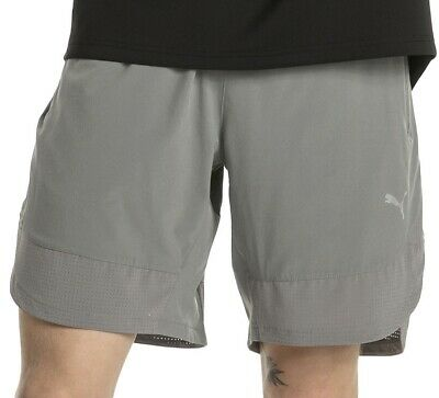 Puma Energy 9 Inch Mens Running Shorts - Grey