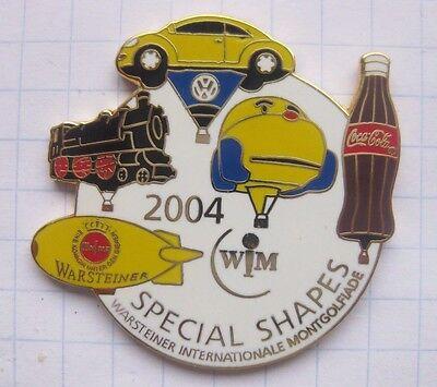 WARSTEINER / WIM 2004...................  Special Shape Ballon-Pin (138i)