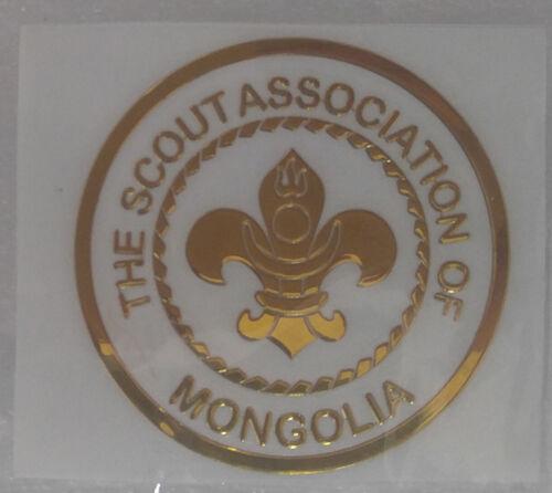 Mongolia Boy Scouts, The Scout Association of Mongolia Logo Phone Sticker Small