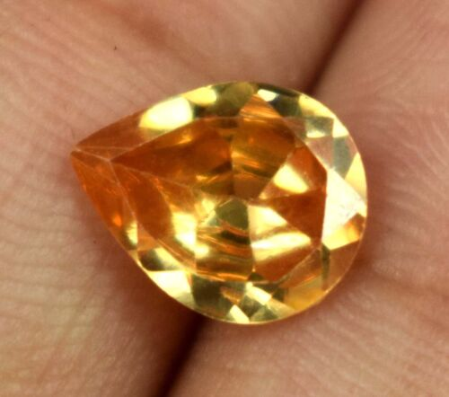 Easter Monday Sale Natural 3.50 Ct Pear Brown Axinite Gemstone Certified A15518