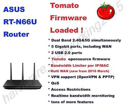 Asus RT-N66U RT-N66R Wireless Router Tomato VPN Firmware,Can SETUP VPN service Asus Wireless Set Up