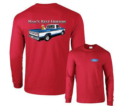 Mans Best Friend T-shirt (Man's Best Friend Ford Long Sleeve)