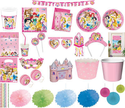 Princess Geburtstag Party (Kindergeburtstag Geburtstag Party Fete Motto Disney Princess & Animals)