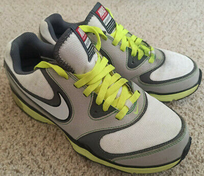 Women's Nike Air Compete TR Shoes Size 9 US White Green Gray