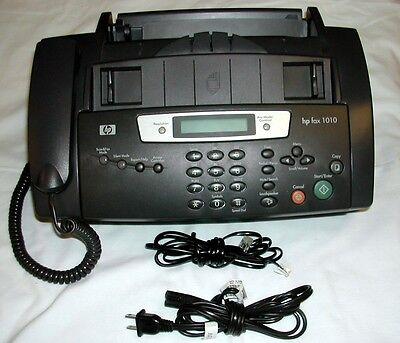 Hewlett- Packard 1010 Fax Machine