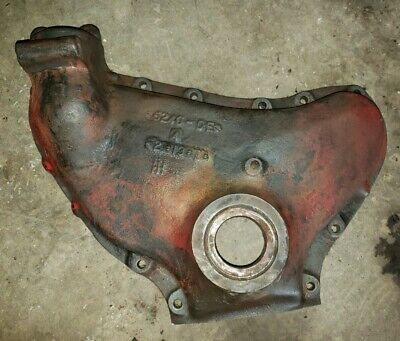 Farmall H Tractor Engine Timing Cover Part With Oil Cap Ihc Parts