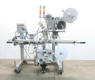 Label Aire 3115nv-2000 7 16 Rh Stainless Conveyor Labeler Wrap System 120v-ac