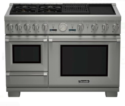 Thermador Pro Grand Steam PRD48NCSGU 48 Inch Pro-Style Dual