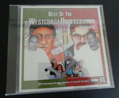 BEST OF THE WESTCOAST UNDERGROUND Volume 1 New CD Peace Unity Social Justice (Best Of Social Justice)