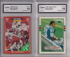 Rookie Barry Sanders Lot Football Trading Cards