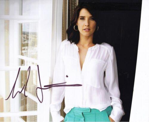Cobie Smulders Signed 10X8 Photo SEXY IMAGE Genuine Signature AFTAL COA (5387)