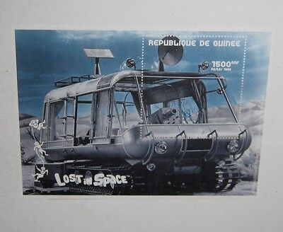 """LOST in SPACE """"CHARIOT"""" COLLECTIBLE POSTAGE STAMP w/ COA ** MINT & FRAMED!!**"""