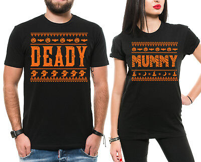 Halloween Couple Dad Mom Shirts Funny Halloween Shirts for Parents