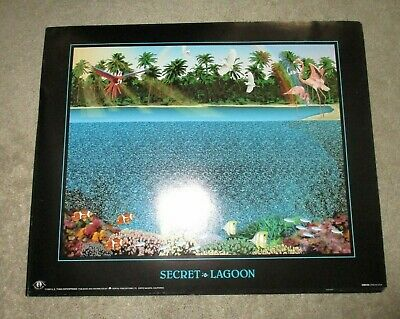 Dinosaurs Holusion Illusion Poster 1993 3D New NVision Grafix Inc