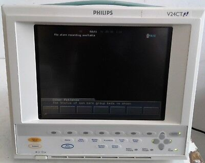 Philips V24ctm1205a Patient Monitor