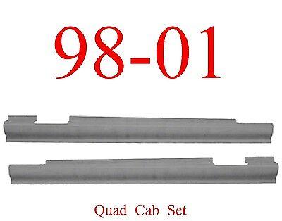 98 01 Dodge Quad Cab Slip-On Rocker Set, Panel, Truck 4 Door