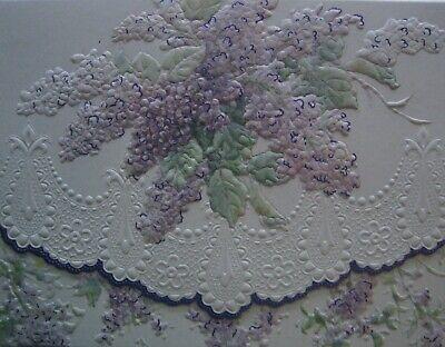 Carol Wilson Fine Arts Stationery 10 Note Cards Envelopes Blank Summer Lilacs Carol Wilson Fine Arts