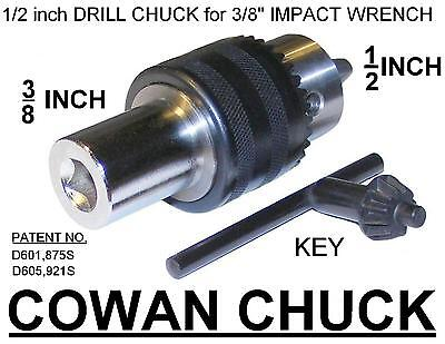 3/8 INCH IMPACT WRENCH DRILL CHUCK