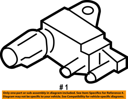 Subaru Oem 05 06 Legacy 2 5l H4 Emission Solenoid Valve Right