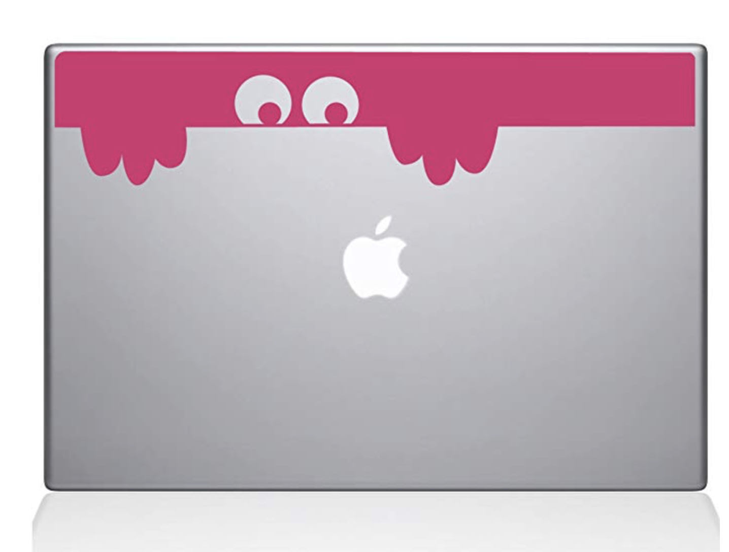 "Decal Guru Peek-a-Boo Monster Decal Vinyl Sticker 12"" MacBoo"